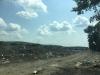 Uitzicht op de vuilnisbelt van Beregowo, waar ook het Roma-kamp is gevestigd.