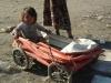 Archieffoto van meisje op Roma-kamp