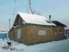 Huisje van zelfgebakken bakstenen, Roma-kamp Vinogradiv