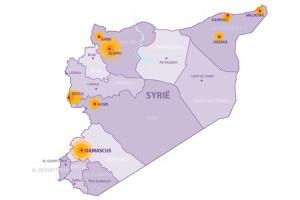 Noodhulp Syrië in kaart (3)